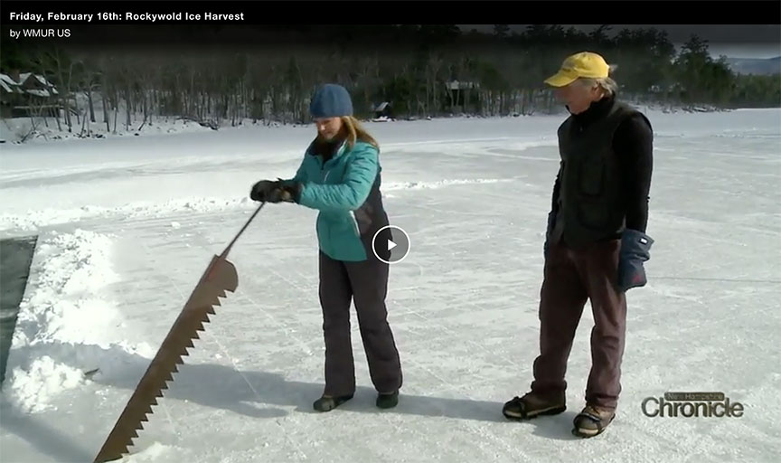 RDC Squam Lake Ice Harvest - NH Chronicle Video